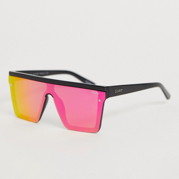Quay hindsight square sunglasses
